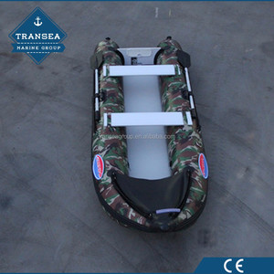 High Quality hypalon inflatable outrigger canoe with CE certificate for 2 people