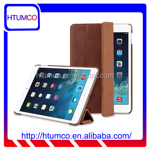 Newly Slim Cover PU Leather Case for Apple iPad mini 4