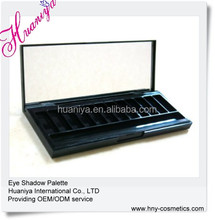 12 color empty eyeshadow palette with private logo