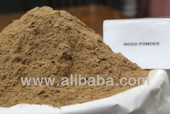 Wood jati powder