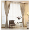Hot Sell chenille microfiber fabric jacquard fabric window curtain blackout curtain