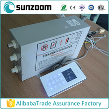 For commercial 380V 12kw GS08-117 White panel steam generator price