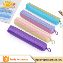 wholesale mini clear plastic candy color pvc eva pencil case for teenagers