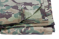 Plastic storage tent joints hunting camouflage tarpaulin cover