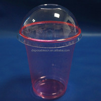 Clear PET Plastic Cold Cups