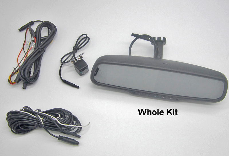 4.5 Inch Monitor OEM Rearview DVR Rear View Mirror Camera