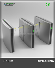 Hot selling safety security flap turnstiles flap barrier gate