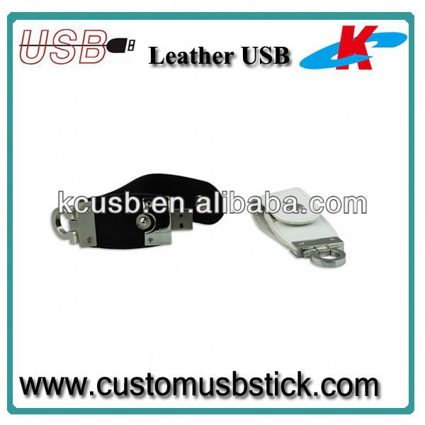 Factory Wholesale Leather Usb Flash 8GB
