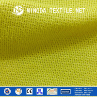 EN 388 cut 5 safety clothing and linings fabric cut resistant fabric para aramid glassfiber knitted fabric price