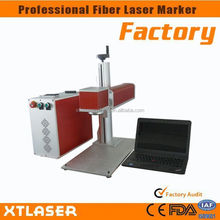 10w/20w Portable/desktop Fiber Laser Marking For Jewelry/watch/led/automobile/ic/iphone/pc Keyboards