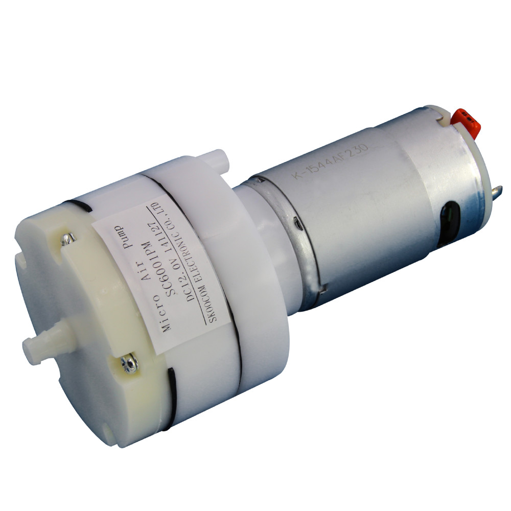 micro dc high volume low pressure air pump