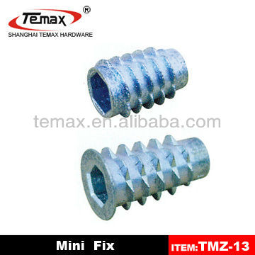 Shanghai TMZ-13 Steel Plastic Metal Connecting Furniture Hardware