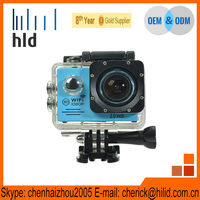 Hilid 0413 action camera cheap action camera 60fps WIFI video camera waterproof HD camcorder 60fps SJ7000