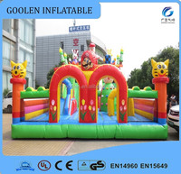 2016 inflatable amusement park, outdoor playground inflatable fun city, inflatable toys for kids