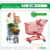 Asian big size dimension shopping trolley, European style supermarket hand shopping trolley, retail shopping trolley cart