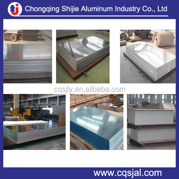 1mm 2mm 5mm Thick Aluminum Sheet 3003