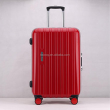 2017 New Fashion ABS+PC Material Luggage Sets,Aluminum Trolley Luggage, Travelling Case With Aluminum Frame