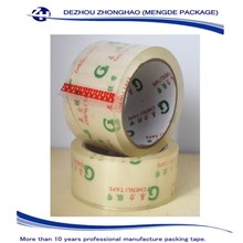 Clear transparent Bundling Tape / Bopp Packaging Tape Without Bubble