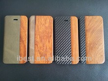High end wood/carbon fiber case for iphone 5/5s can engrave your logo on the wood case