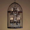 New Style Vintage Cage Pendant Lamp
