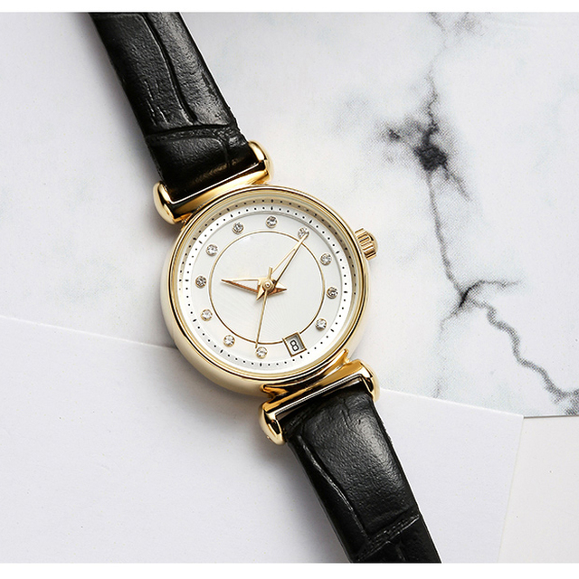 Mini watches with good quality strap waterproof women watch small size