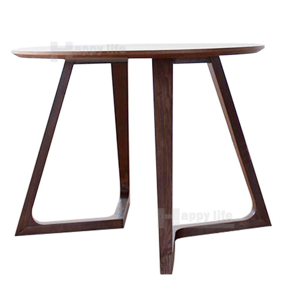 Commercial restaurant table in solid wood