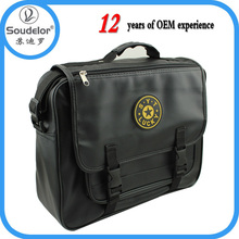new design PU leather laptop bags specification for men office