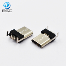 Free sample Micro USB Jack 2.0 5pin Male charging Socket Connector China Supplier