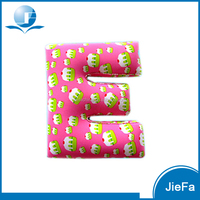 Customized Letters Design Lumbar Support Pillow