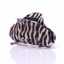 Fashion and stylish animal print hair accessories crab claw clip