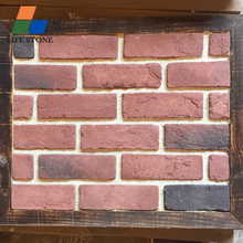outdoor decorative wall clay red bricks factory