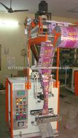 Automatic semi pneumatic type powder pouch packing machine