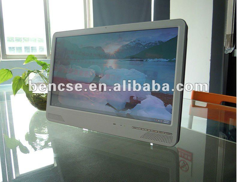 21.5 inch led touchscreen all in one pc with wifi,DVD,webcam