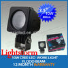 10w cree led auxiliary driving lights,24v car led lighting accessory,4X4 off road led lighting