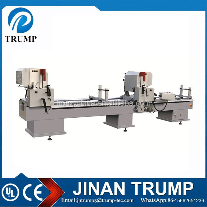 two head aluminum cutting machine for 45 degree