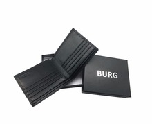 RFID blocking leather easy carry card holder