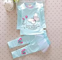 d96331t 2016 spring baby clothes little girl cothing 2pieces clothes sets for baby