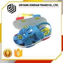 Beautiful Pretty Girl children Fancy fashion kids pvc sandals