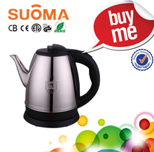 2018 newly 304 or 201 stainless steel(thickness 0.4) electric kettle classic style water jug Water boi 1.7L