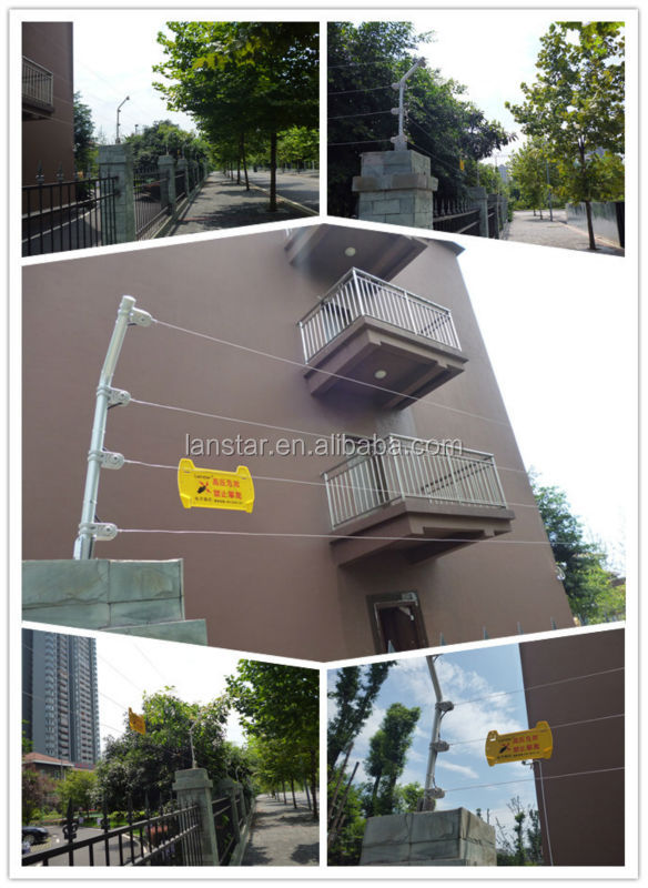 Lanstar Residential new practial Aluminum alloy terminal post for security anti-corrosion