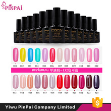 Pinpai brand private label soak off gel polish customize uv gel gel nail polish