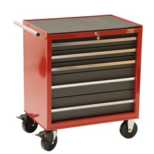 Roller cabinet with tool box side cabinet tool kit