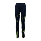 OEM/ODM Men's knitted 4 needle 6 thread yoga custom design running sport gym compression long pants tights for men