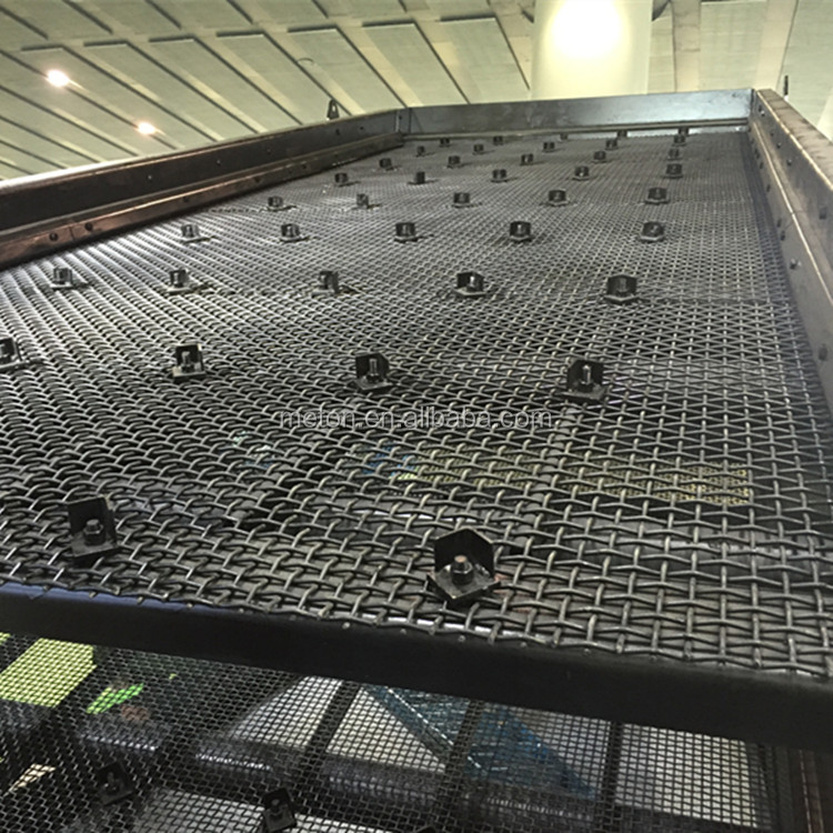 big size small size custom-made size metal mesh sand gravel screen mesh