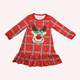 Wholesale Kids Red Green Christmas Pajamas Family Matching Clothing Sets