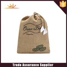 Hot selling environmentally friendly hemp drawstring bag