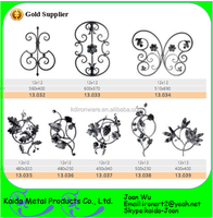 Residential Wrought Iron Panels For Fence Gate Stair Decoration Wholesale