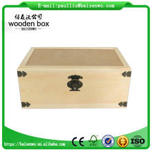 Customize sapele wood box high quality gift boxes