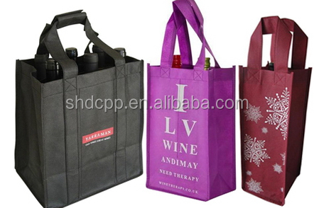 New professional strong non woven wine bag