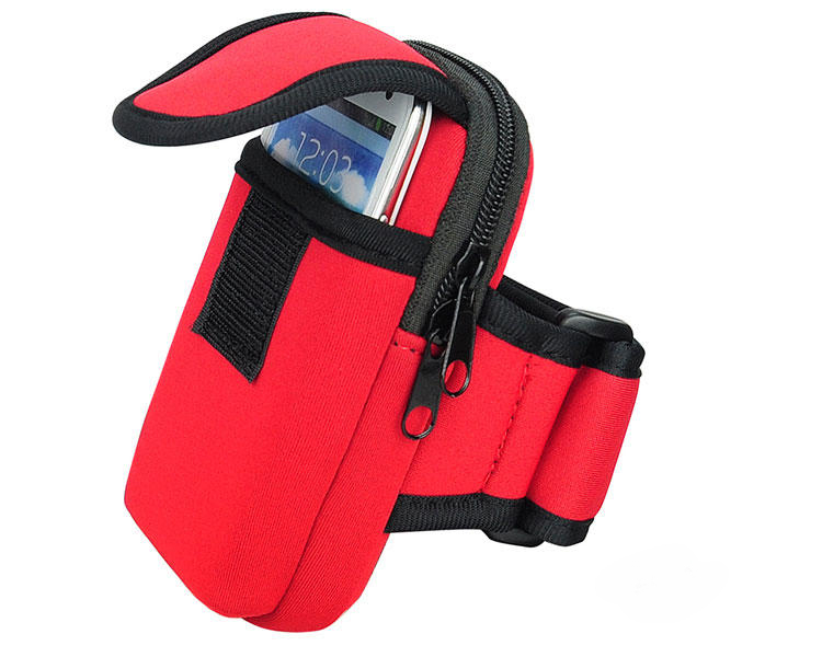 Sports Running Jogging Gym Armband Case Neoprene Workout Fitness Arm Band Bag Pouch For Huawei p9